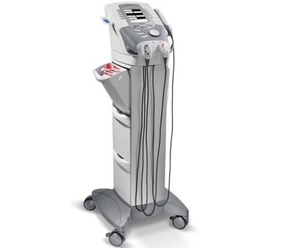 Chattanooga Therapy Cart w Adapter for Intelect Transport Unit