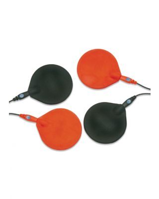 "Chattanooga 3"" Diameter Rubber Carbon Electrode Pack of 2"