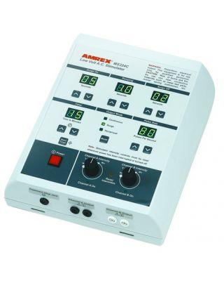 Amrex Dual Channel Low Volt Muscle Stimulator