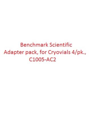 Benchmark Scientific Adapter pack, for Cryovials 4/pk., C1005-AC2