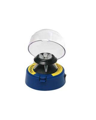 Benchmark Scientific Blue Mini Centrifuge w/ 2 rotors, BSC1006-B