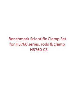 Benchmark Scientific Clamp set for H3760 series, rods & clamp H3760-CS