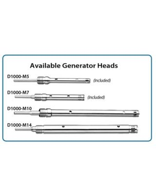 Benchmark Scientific Optional Generator, D1000-M14