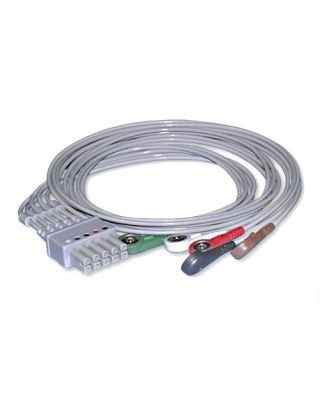 Bionet 5 Lead Snap Type ECG Cable