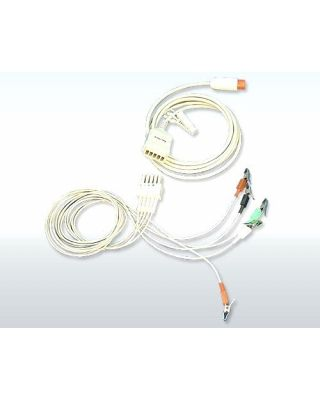 Bionet Alligator Type 5 Lead ECG Cable