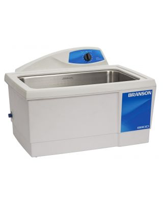 Branson CPX8800H Ultrasonic Cleaner Digital Timer, Heat, Degas, & Temp Monitor, 5-1/2 Gallon, CPX-952-818R w/ basket