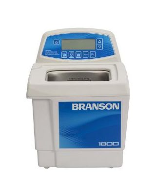 Branson CPX1800H Ultrasonic Cleaner Digital Timer, Heat, Degas, & Temp Monitor, 1/2 Gallon, CPX-952-118R
