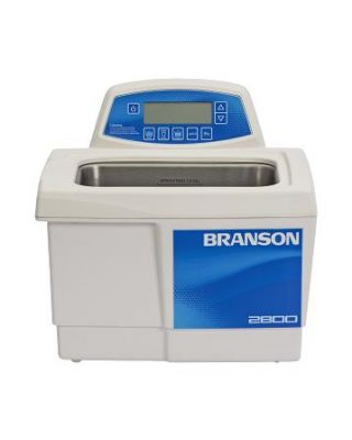 Branson CPX2800H Ultrasonic Cleaner Digital Timer, Heat, Degas, & Temp Monitor, 3/4 Gallon, CPX-952-218R