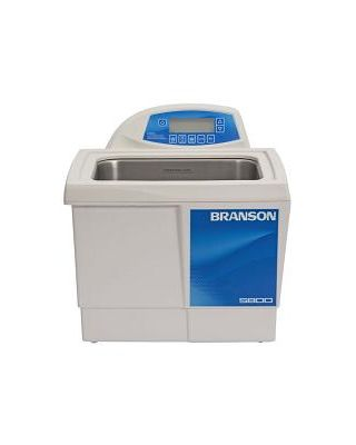 Branson CPX5800H Ultrasonic Cleaner Digital Timer, Heat, Degas, & Temp Monitor, 2-1/2 Gallon, CPX-952-518R