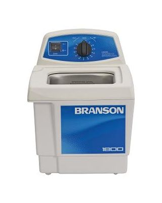 Branson M1800H Ultrasonic Cleaner Mechanical Timer & Heat, 1/2 Gallon, CPX-952-117R