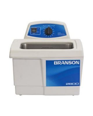 Branson M2800H Ultrasonic Cleaner Mechanical Timer & Heat, 3/4 Gallon, CPX-952-217R
