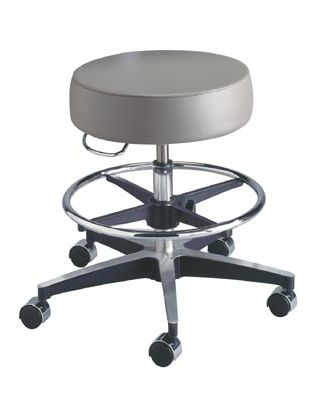 Brewer Century Series Pneumatic Exam Stool Height adj BRE-11001BLCD