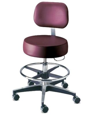 Brewer Century Series Pneumatic Exam Stool Height adjust 11001BVFR