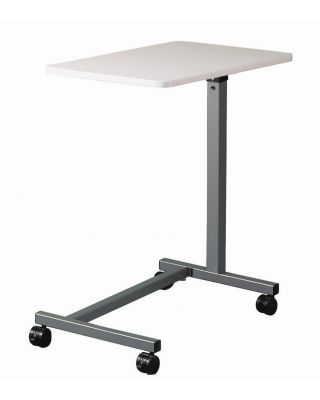 "Brewer Overbed Table,""U"" Base,Gray,BRE-11630"