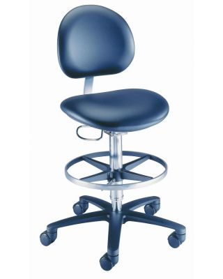 Brewer Laboratory Stool, Height adjustment 21.75 inch - 32 inch , BRE-21521B