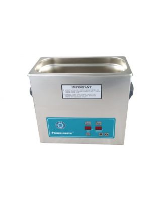 Crest Ultrasonic Cleaner w/ Timer & Heat 1 Gal