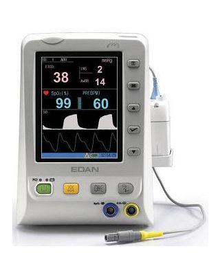 """Edan Vital Signs Monitor w/5.7"""" Color Screen,Nellcor Spo2,Sidestream CO2,M3B-SSCO2"""