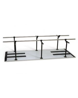 Hausmann Model 1386 Bariatric Parallel Bars Height and Width Adjustable