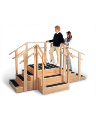Hausmann Model 1570 Patented 3-in-1 Training Staircase