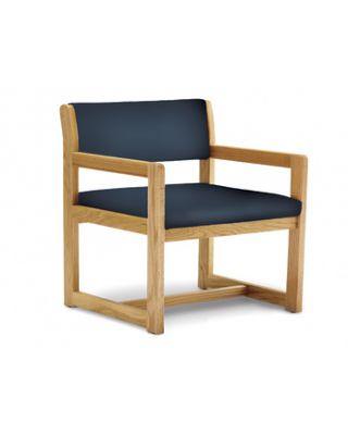 Hausmann Model 2165 Oak Bariatric Arm Chair