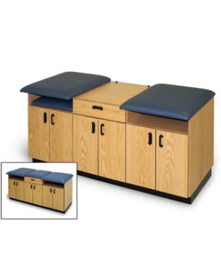 Hausmann Model 4061 Two-Person Taping Table/Convertible Treatment Table