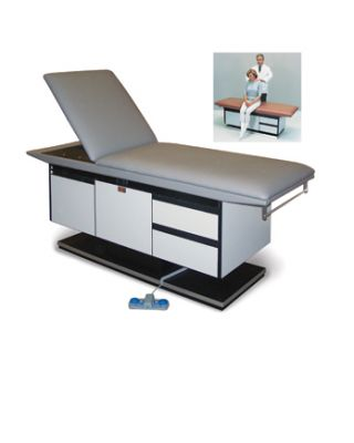 Hausmann Model 4746 Powermatic� Treatment Table with Gas-Spring Backrest