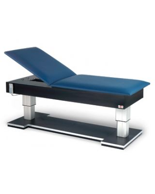 Hausmann Model 4795 Bariatric Hi-Lo Treatment Table with Power Backrest
