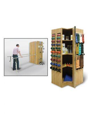 Hausmann Model 5564 TheraStand� Storage and Equipment Module