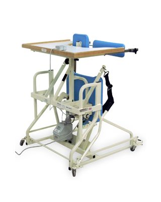 Hausmann Model 6180 Hi-Lo Stand-in Table with Electric Patient Lift