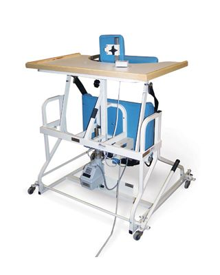 Hausmann Model 6185 Bariatric 500 lb. Electric Stand-In Table