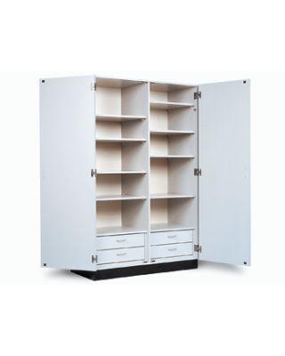 Hausmann Model 8248-84-346 Double Door Storage Cabinet