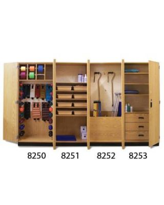 Hausmann Thera-Wall� Therapy Storage System Model 8252-100 Accessorized Cabinet
