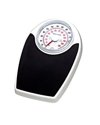 HealthOmeter Mechanical Dial Scale,330lbs/150kg,142LBS / KLS