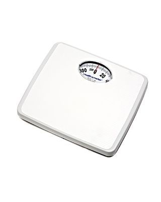 HealthOmeter Mechanical Dial Scale,330lbs,175LBS