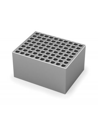 IKA Single block,10 x 8 individual PCR tube strips,for 0,2 ml tubes
