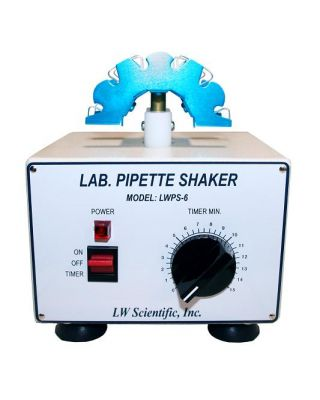 LW Scientific Pipette Shaker - Timer 2500 Rpms Holds 6 SHL-PPF7-06F1