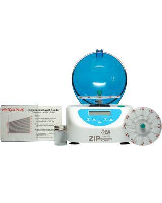 LW Scientific ZipCombo ZipoCrit Centrifuge w/12 Place Hematocrit Rotor,ZCC-12HD-40T3