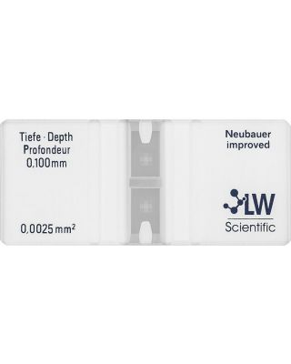 LW Scientific, Hemacytometer, CTL-HEMM-GLDR