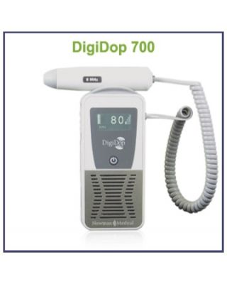 Newman Display Digital Doppler,2MHz waterproof obstetrical probe,DD-700-D2W