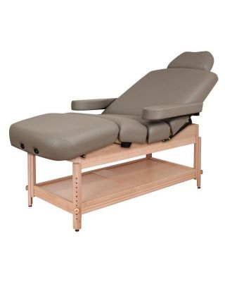 Oakworks Clinician Adjustable Lift-assist Salon Top Table