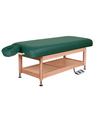 Oakworks Clinician Electric-Hydraulic flat Top Table
