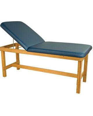 """Oakworks Powerline Series H-Brace Treatment Table w/Backrest 27"""" OW-PW27-BR"""