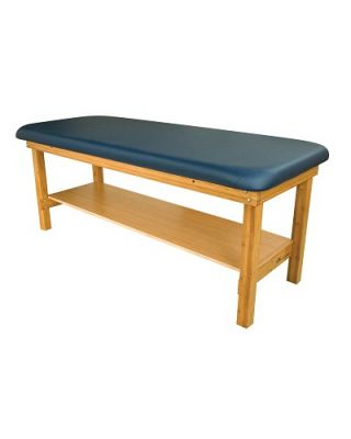 "Oakworks Powerline Series Treatment Table w/Shelf 27"" OW-PW27-SH"