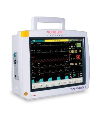 Schiller Tranquility II Patient Monitor w/ ETCO2