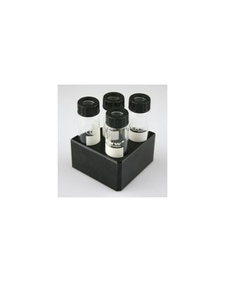 SCILOGEX - Black quarter reaction block,4 holes 16ml reaction vessel 28mm dia x 43mm depth,18900005