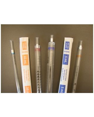 SCILOGEX - Serological Pipettes,5ml Individually wrapped,Sterile 50/bag,200/case,2507633