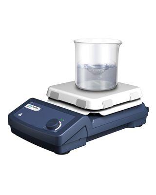 SCILOGEX MS7-S Analog 7�� Square Plate Magnetic Stirrer,ceramic-glass plate,110V/60Hz,81321100