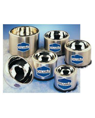 SCILOGEX 1Ltr. WideTop-Shallow S. Steel Cased Dewar Flask,SS138SH