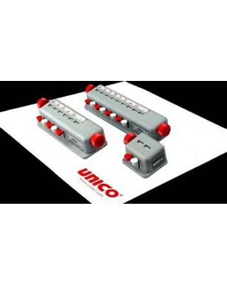Unico Differential Counter Featuring 5 Key w/Totalizer Window and Signal Bell ,L-BC6