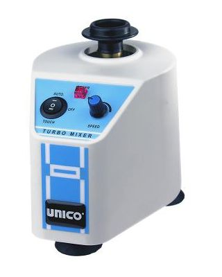 Unico Vortex Mixer for Single Tube,3 Position Switch,Variable Speed,L-VM1000
